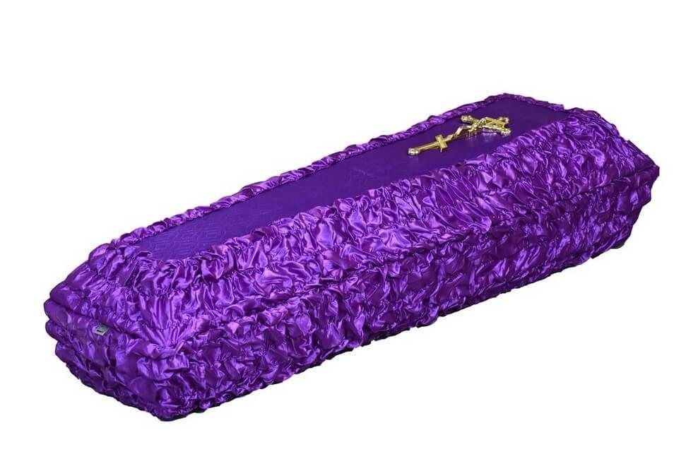 Гроб «Гофрированный»