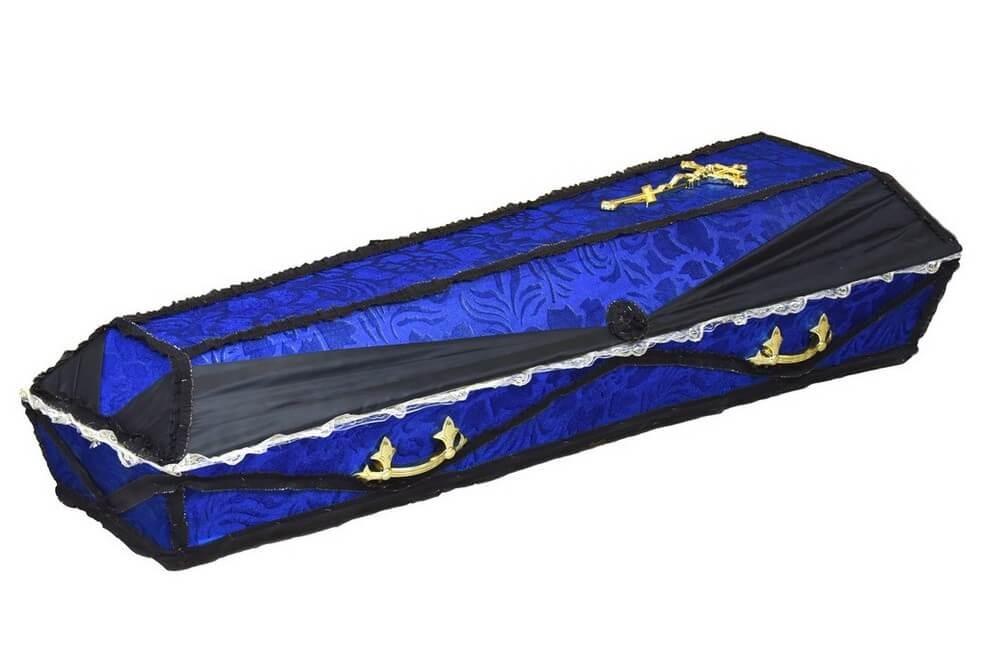 Гроб «Драпированный с ручками»