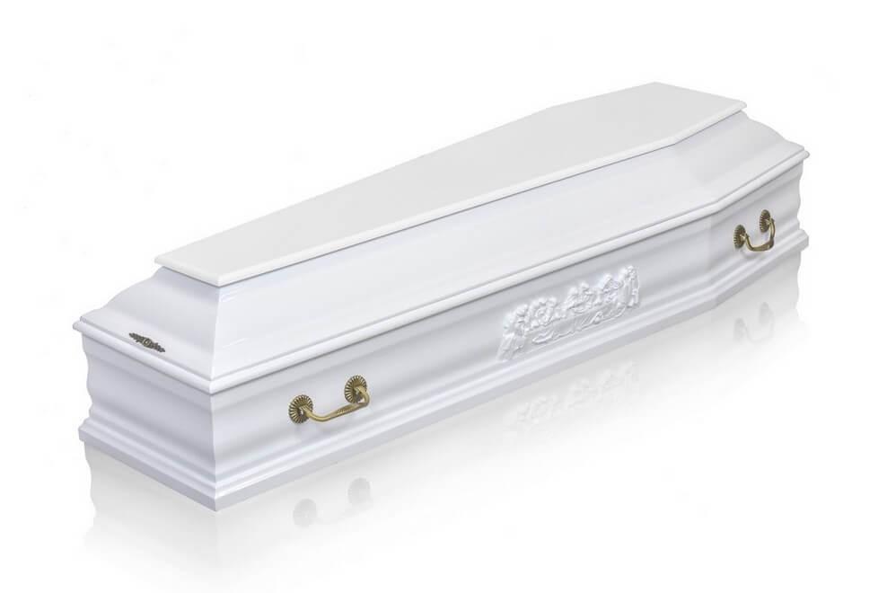 Гроб «Престиж белый»