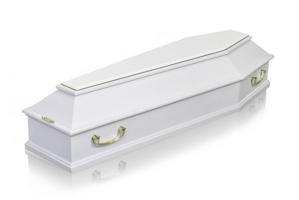 Гроб «Б4 Стандарт белый»